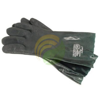 green anhydrous gloves