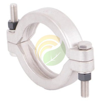 """2"""" manifold flange full port bolted clamp image."""