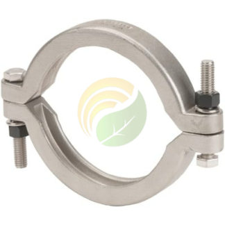 """3"""" manifold flange bolted clamp image."""