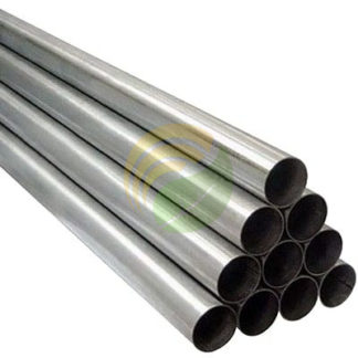 Stainless steel pipe image.